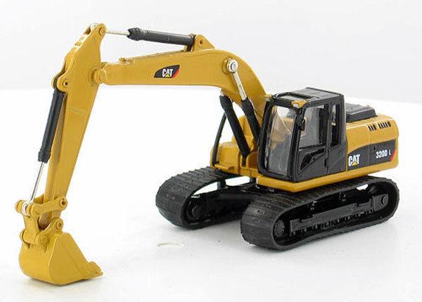 Norscot HO Scale 1:87 CAT 320D L Hydraulic Excavator NEW 55262